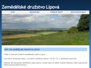 WEBOVÁ STRÁNKA Zemědělské družstvo Lipová