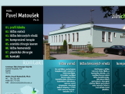 WEBOVÁ STRÁNKA Centrum �iln� chirurgie Kojet�n MUDR. Pavel Matou�ek