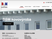 WEBOVÁ STRÁNKA BSM - kovovýroba s.r.o.