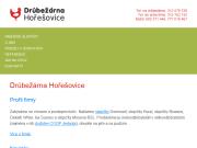 WEBOVÁ STRÁNKA Drůbežárna Hořešovice s.r.o.