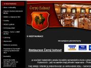 WEBOVÁ STRÁNKA Restaurace Černý kohout hary group s.r.o.