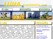 WEBOVÁ STRÁNKA LUHA zemědělská, a.s.