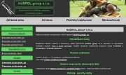 WEBOVÁ STRÁNKA HUSPOL group s.r.o.