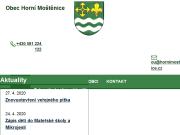 WEBOVÁ STRÁNKA Obec Horní Moštěnice