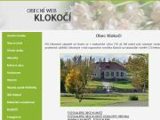 WEBOVÁ STRÁNKA Obec Klokočí Obecní úřad