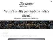 WEBOVÁ STRÁNKA Kovomont Přerov - spol. s r.o.