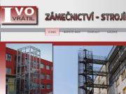 WEBOVÁ STRÁNKA Ivo Vrátil - ZÁMEČNICTVÍ