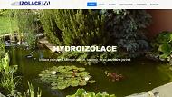 WEBOVÁ STRÁNKA IZOLACE M s.r.o. Fóliové izolace Zlínský kraj