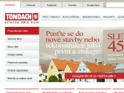 WEBOVÁ STRÁNKA TONDACH Česká republika, s.r.o.