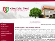 WEBOVÁ STRÁNKA Obec Dolní Újezd