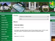WEBOVÁ STRÁNKA Obec Citov