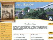 WEBOVÁ STRÁNKA Obec Beňov