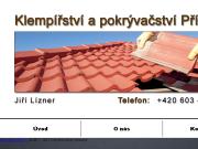 WEBOVÁ STRÁNKA Jiří Lízner Pokrývačství