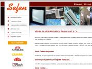 SITO WEB SEFEN, spol. s r.o.