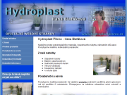 WEBOVÁ STRÁNKA Blaťáková Hana - Hydroplast