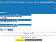 WEBOVÁ STRÁNKA Obec Sedliště