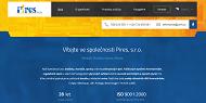 Strona (witryna) internetowa PIRES s.r.o.