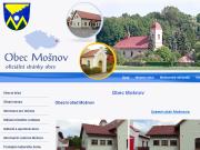 WEBOVÁ STRÁNKA Obec Mošnov Obecní úřad