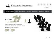WEBOV� STR�NKA Kraus & Partners s.r.o. Strategick� poradenstv� Praha