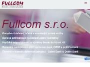 WEBOVÁ STRÁNKA FULLCOM s.r.o.