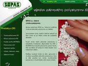 WEBOVÁ STRÁNKA SEPAS a.s. Výroba pěnového polystyrenu