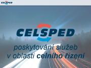 WEBOVÁ STRÁNKA CELSPED s.r.o. Celní deklarace