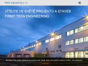 WEBOVÁ STRÁNKA TEEN engineering s.r.o.