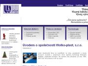WEBOVÁ STRÁNKA WOLKO-PLAST, S.R.O.