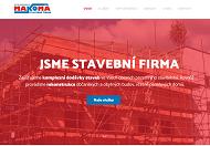 WEBOVÁ STRÁNKA MAKOMA stavební firma s.r.o.