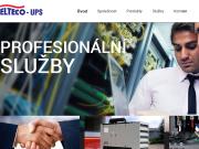 WEBOVÁ STRÁNKA ELTECO - UPS s.r.o.