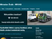 WEBOVÁ STRÁNKA Miroslav �v�b �i�t�n� kanalizac� nonstop Teplice