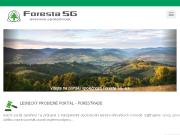 WEBOVÁ STRÁNKA Foresta SG, a.s. Lesní poradenství
