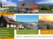 WEBOVÁ STRÁNKA MÜLLER - REALITY/IMMOBILIEN, s.r.o.