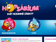 WEBOVÁ STRÁNKA Hopsárium MVM Hřiště, s.r.o.