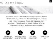 WEBOVÁ STRÁNKA Outline, s.r.o.