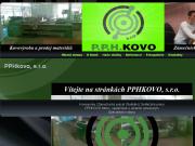 WEBOVÁ STRÁNKA P.P.H. Kovo s.r.o.
