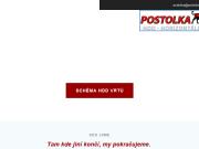 WEBOVÁ STRÁNKA POSTOLKA-DRILLING, s.r.o. řízené vrtání, podvrty