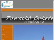WEBOVÁ STRÁNKA Hana Káchová - Zámecká cukrárna Cukrářská výroba Horažďovice