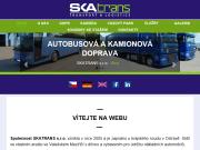 WEBOVÁ STRÁNKA Skatrans, s.r.o.