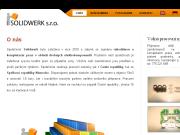 WEBOVÁ STRÁNKA Solidwerk s.r.o.