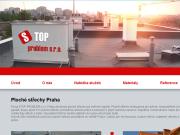 WEBOVÁ STRÁNKA Stop Problém, s.r.o. Ploché střechy Praha