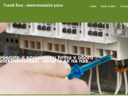 Strona (witryna) internetowa Tomas Sour - elektroinstalacni prace