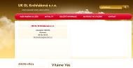 WEBOVÁ STRÁNKA UK OL Krchňáková, s.r.o. Vedení účetnictví a daňové evidence