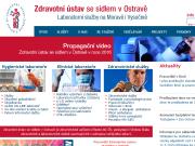 WEBOVÁ STRÁNKA Zdravotní ústav se sídlem v Ostravě