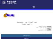WEBOVÁ STRÁNKA OASA COMPUTERS s.r.o. www.oasa.cz