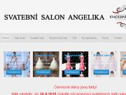WEBOVÁ STRÁNKA Svatební dům Angelika Salon Scarlet