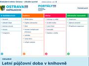 WEBOVÁ STRÁNKA Statutární město Ostrava Městský obvod Hošťálkovice