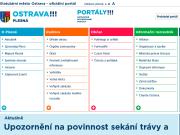 WEBOVÁ STRÁNKA Statutární město Ostrava Městský obvod Plesná