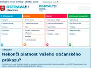 WEBOVÁ STRÁNKA Statutární město Ostrava Městský obvod Třebovice