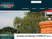 WEBOVÁ STRÁNKA Stavby COMPLET s.r.o.